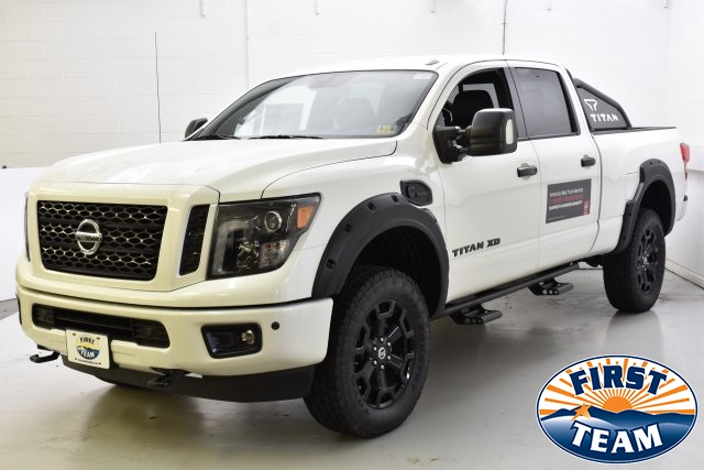 New Nissan Titan >> New 2018 Nissan Titan Xd Sl With Navigation 4wd
