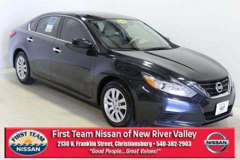 pre owned 2016 nissan altima 2 5 s 4d sedan in roanoke pnr355685 first team nissan first team nissan